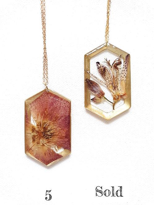 Preserved Botanical Necklaces