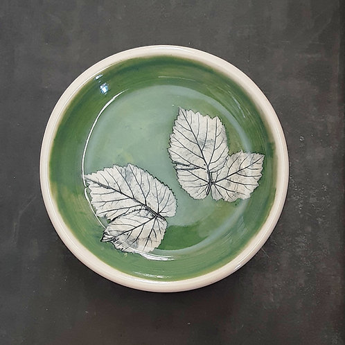 Pressed Leaf Dish #15