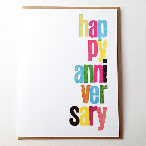 Happy Anniversary lowercase