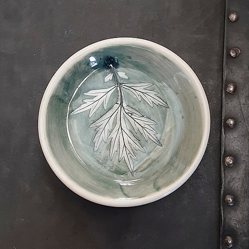 Pressed Leaf Dish #6