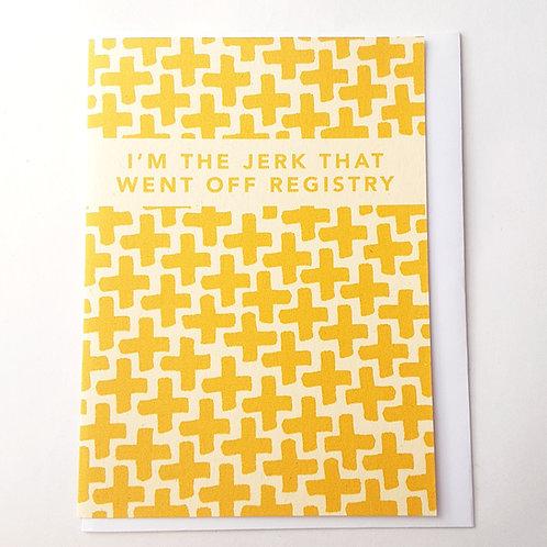 Off Registry