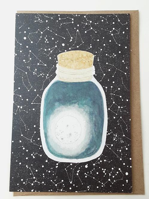 Dark Moon Card by Stitch Prism