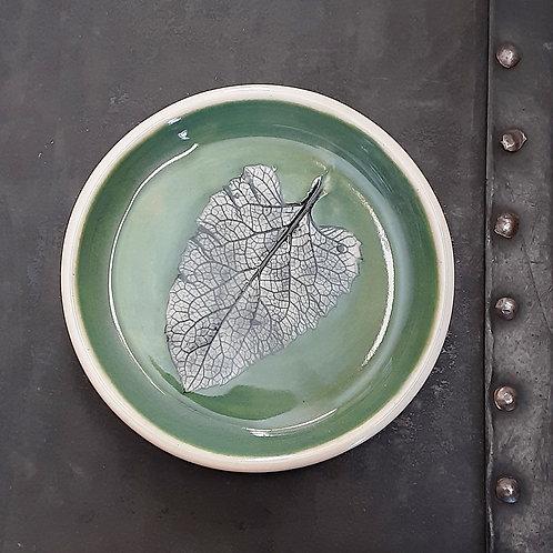 Pressed Leaf Dish #11