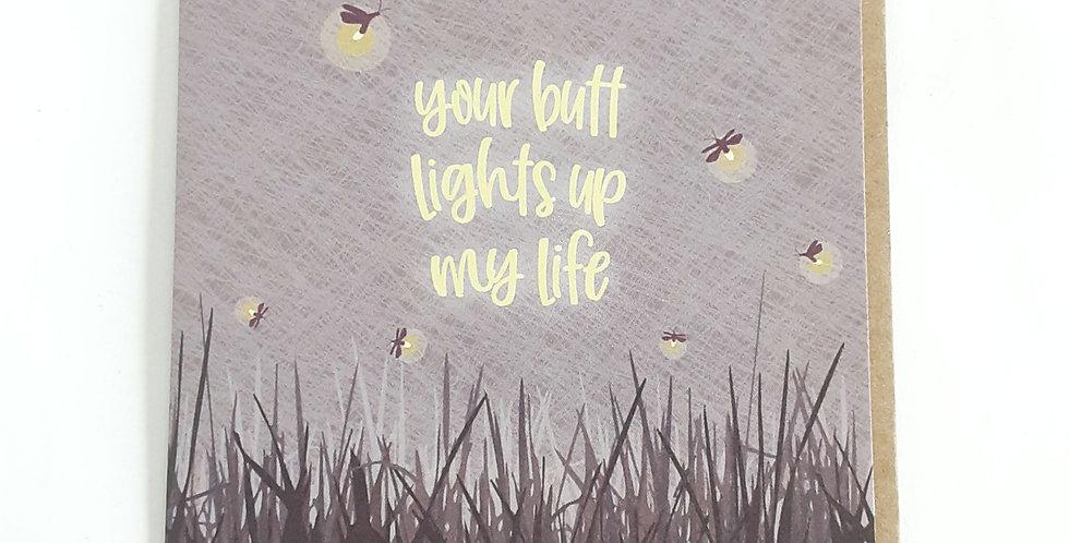 Butt Lights Up