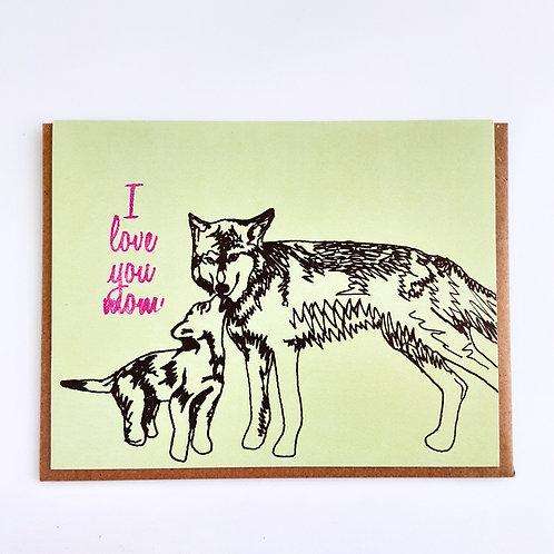 I Love You Mom dogs