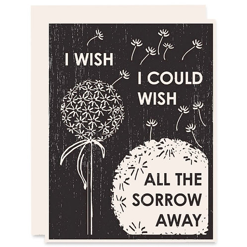 I Wish I Could Wish the Sorrow Away