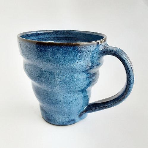 Large Blue Mug #9