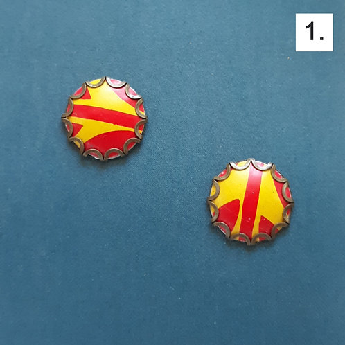 Assorted Stud Earrings by Saffron Creations