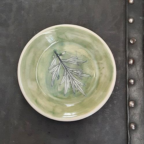 Pressed Leaf Dish #1