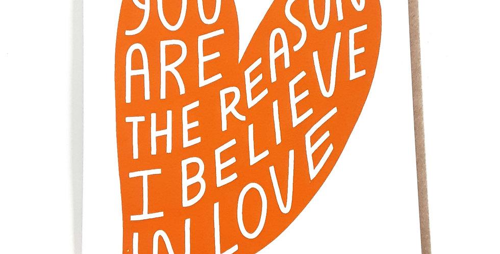 Reason I Believe