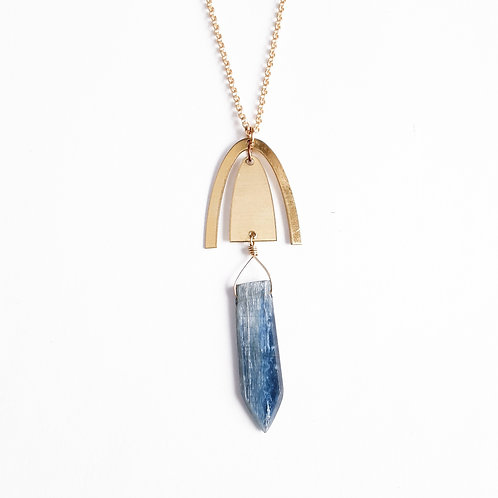 Kyanite Point Necklace