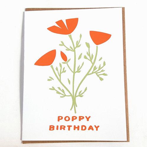 Poppy Birthday