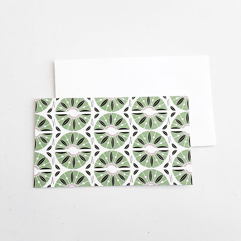 Mini Note Cards, Kiwi