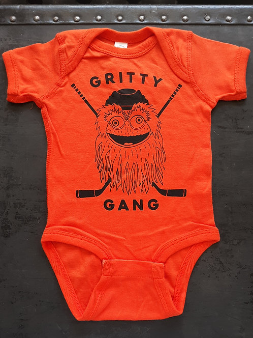 Gritty Gang Onesie or Toddler Tee