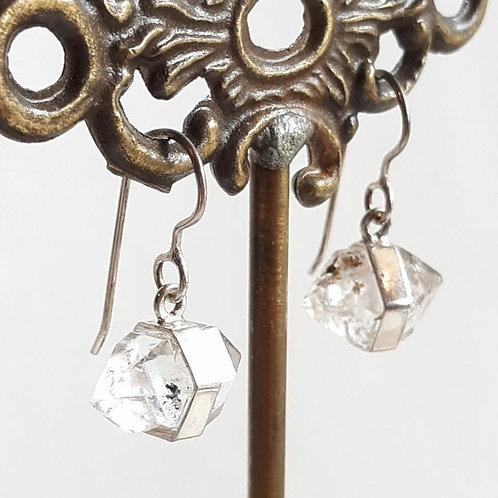 """Herkimer """"Diamond"""" Earrings"""