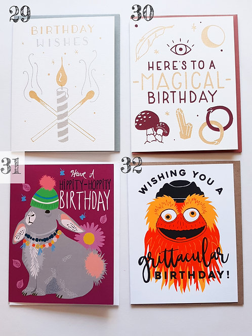 Birthday Cards (Part 2)