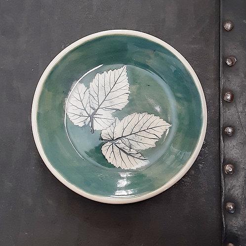 Pressed Leaf Dish #10