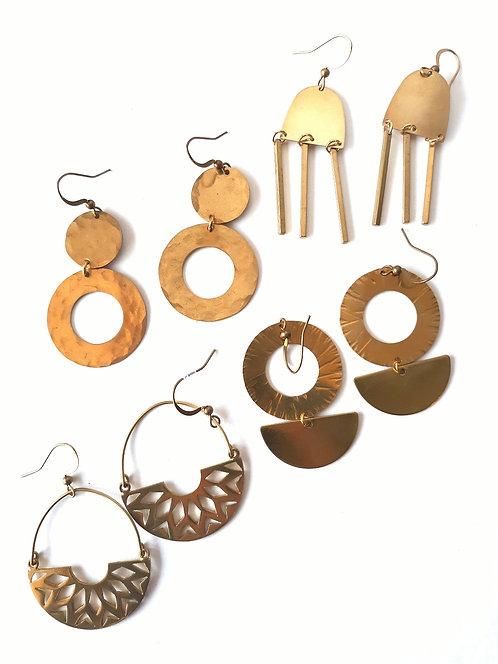 Assorted Earrings by Geometric Gem