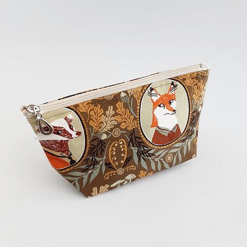 Cosmetic Bag- Mr. Fox