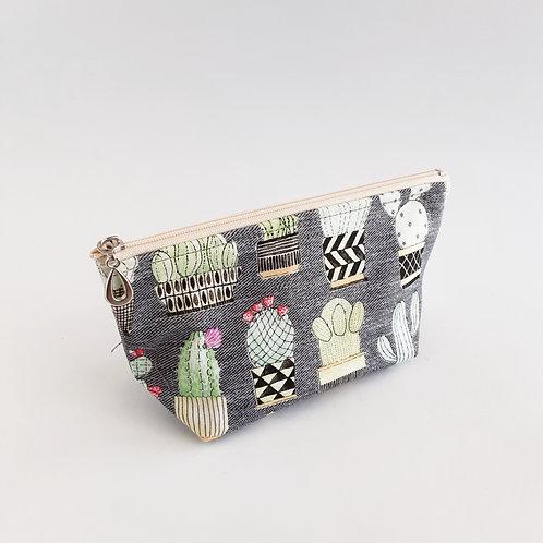 Cosmetic Bag- Succulents