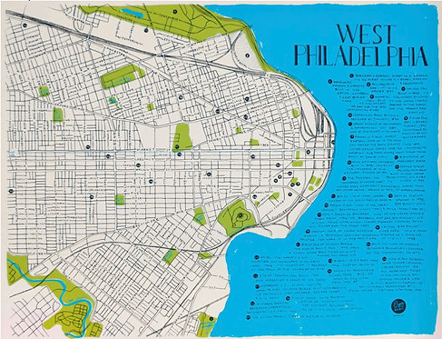 West Philadelphia Map