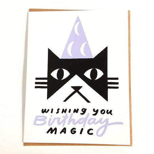 Birthday Magic Cat