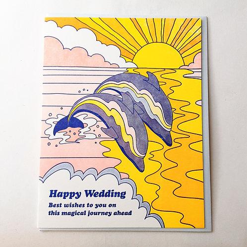 Wedding Dolphins
