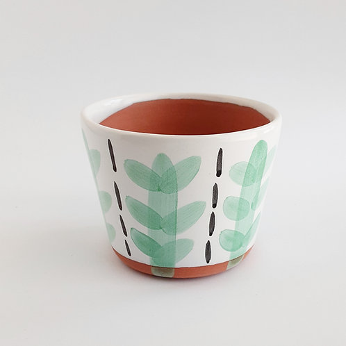 "Mint Cacti 4"" Planter"