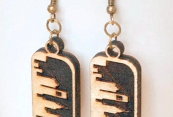 Philly Skyline Earrings