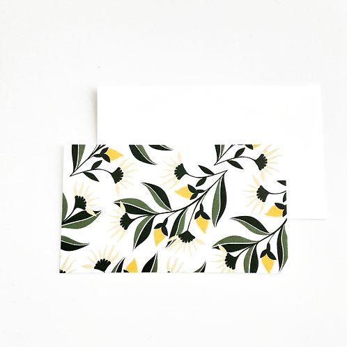 Mini Note Cards, Yellow Daisy