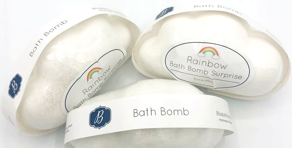 Rainbow Bath Bomb