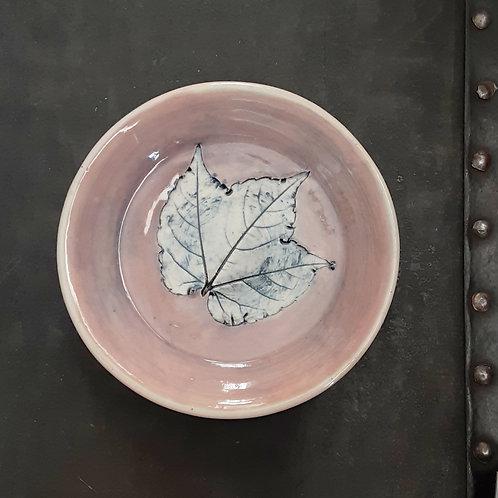 Pressed Leaf Dish #17