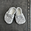 Thumbnail: Baby Shoes- Gray Stars