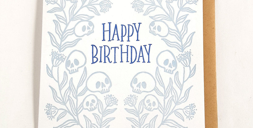 Birthday Skulls
