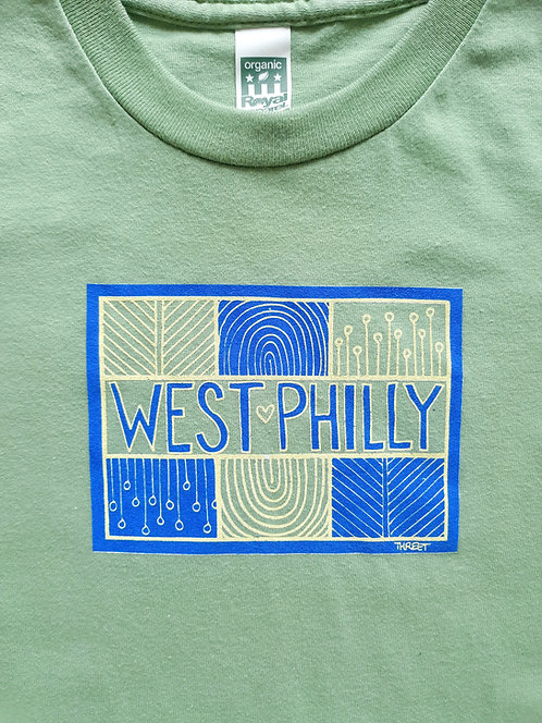 West Philly Tee (Kids/Baby) by Threet, Benefit for 52nd Street Recovery