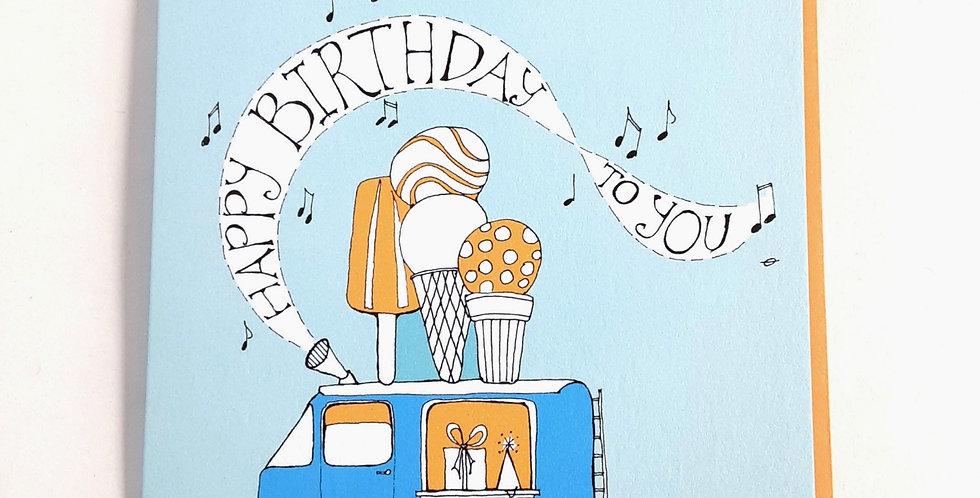 Birthday Ice Cream Truck