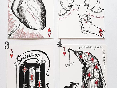 Postcards by Corina Dross