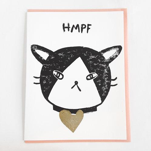 Hmpf cat