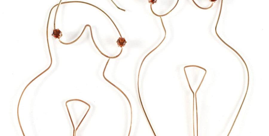 Female Form Earrings