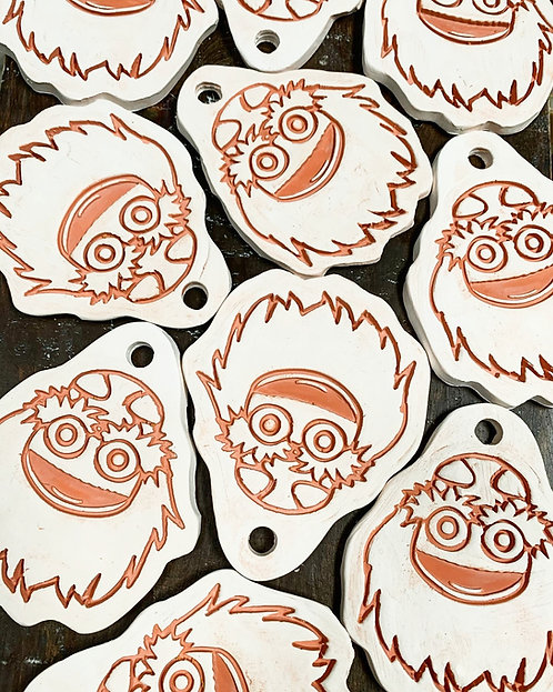 GRITTY Ceramic Ornament Tile