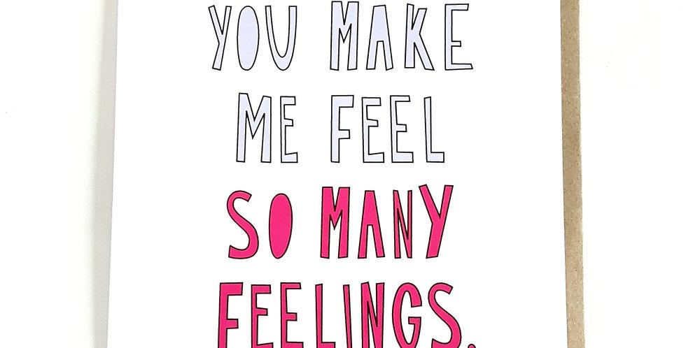 So Many Feelings