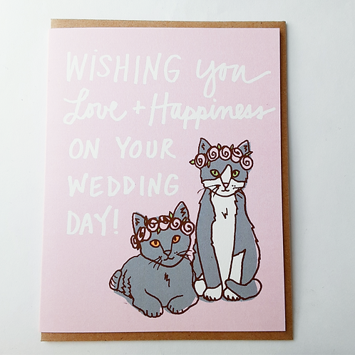 Wedding Day- cats