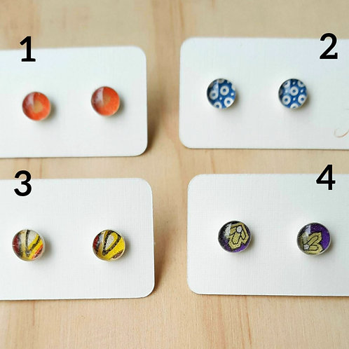 Stud Earrings by Joeyfivecents