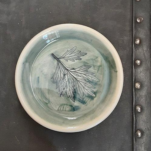 Pressed Leaf Dish #3