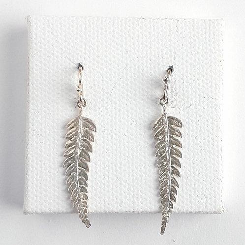 Sterling Earrings, Plants & Animals