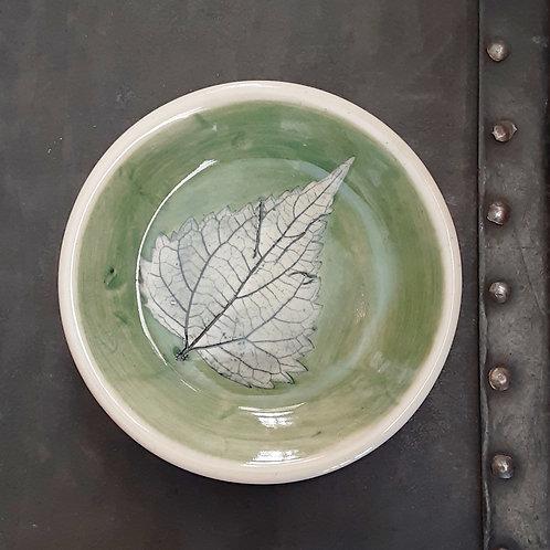 Pressed Leaf Dish #8