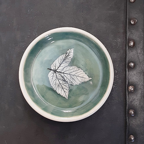Pressed Leaf Dish #4