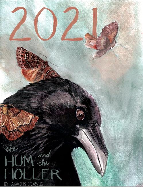 2021 Calendar by Abacus Corvus