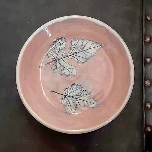 Pressed Leaf Dish #19