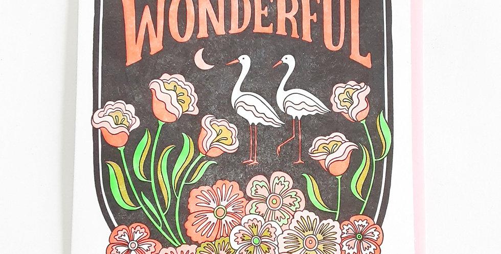 World is Wonderful